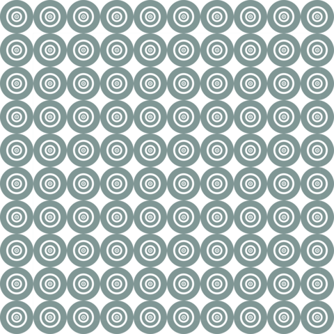 White circle pattern background with abstract white circle vector