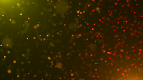 Beautiful defocused particles with glowing effect, shallow depth of field Footage