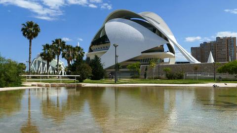 The City of Arts and Sciences, Palau de les Arts Reina Sofia Live Action
