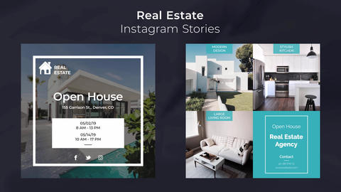 Real Estate Instagram Stories After Effects Template