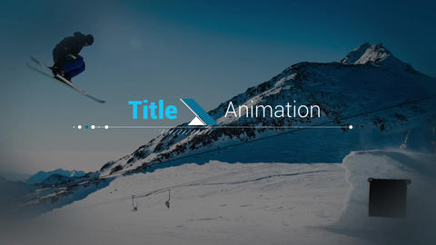 Title Design After Effects Template