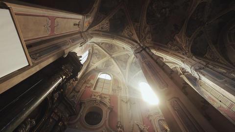 Sunlight Through Church Stain-glass Window GIF