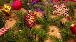 Christmas still life Footage