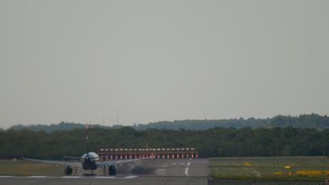 Jet airplane departure Archivo
