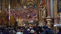 Vienna, Austria Stephansdom Saint Stephen Cathedral interior during mass Archivo