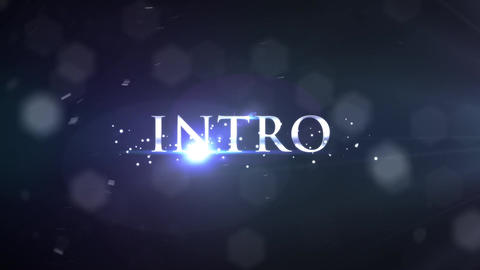 Elegant Trailer - Bokeh Light Particles Background Text Titles Stylish HD Intro After Effects Template