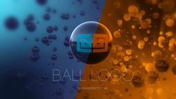 Ball Logo Reveal stock footage