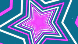 4k Seamless Looping Pink and White Star Animated Motion Background Animation