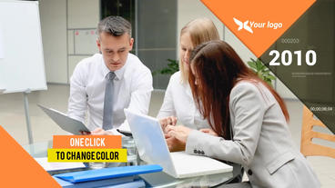 Corporate Clean Slideshow After Effects Template
