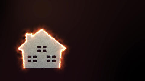 Fire house Animation