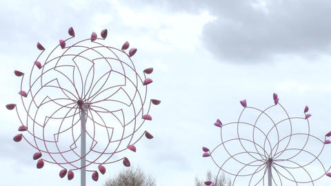 Unusual windmill 006 Footage