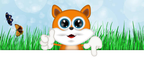Marvin Cat Illustration Toon Cartoon Character Animation
