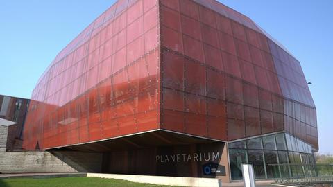 The Planetarium in Warsaw Footage