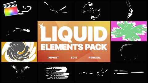 Liquid Motion Elements And Transitions Apple Motion Template