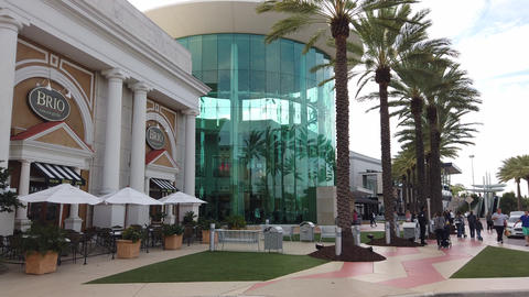 Entrance To The Mall At Millenia In Orlando GIF