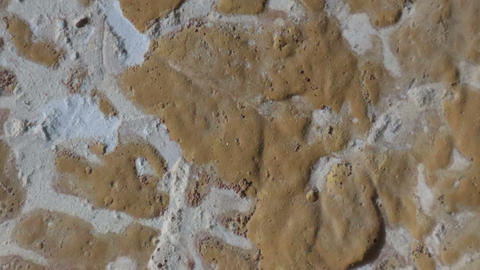 Stop motion animated concrete texture background or useful for old films effectsStop motion animated Footage