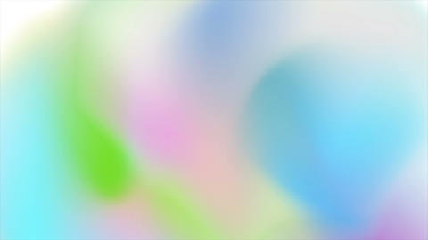 Abstract holographic soft gradient shapes video animation Animación