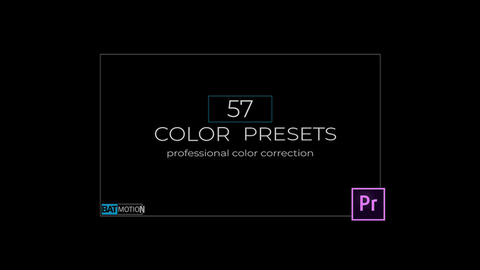 Wedding Color Presets V. 2 Premiere Pro Template