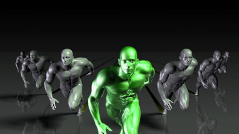 Sports Development and Training Business Industry Animation