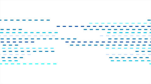 Abstract geometric blue dotted lines video animation CG動画素材