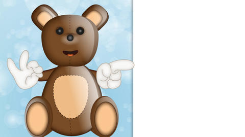 Toby Ted Teddy Toy Character Cartoon Animation