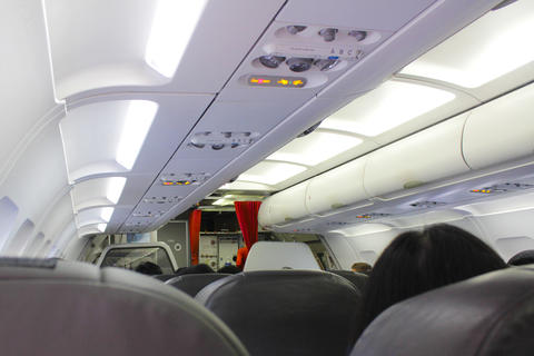 airplane interiors Photo