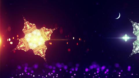 Ramadan Festival Background Animation