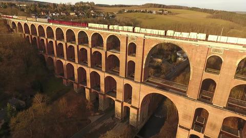 train bridge europe germany thuringia travelling Live Action