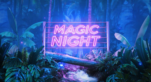 Neon Plants After Effects Template