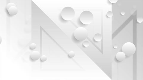 White grey tech minimal abstract video animation Animation
