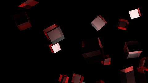 red cube Animation