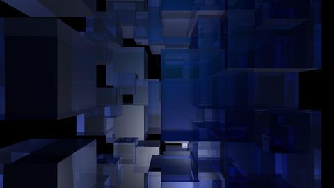 blue box Stock Video Footage