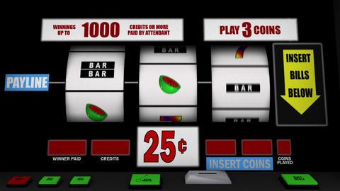 スロットマシン Stock Video Footage