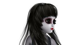 少女人形 CG動画