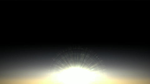 sunlight in dawn,sunrise,heavenly light Animation