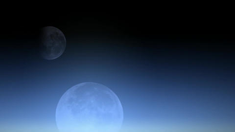 celestial body,moon Stock Video Footage