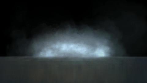 smoke throught the sea Stock Video Footage