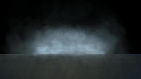 smoke throught the sea Animation