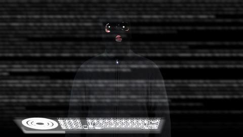 Hacker Breaking System 10 Stock Video Footage