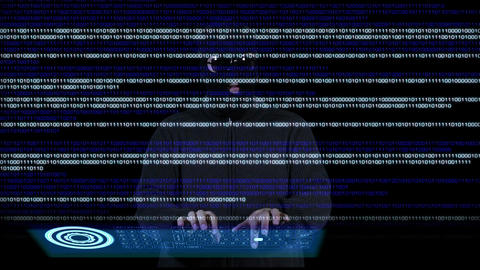 Hacker Breaking System 12 Stock Video Footage