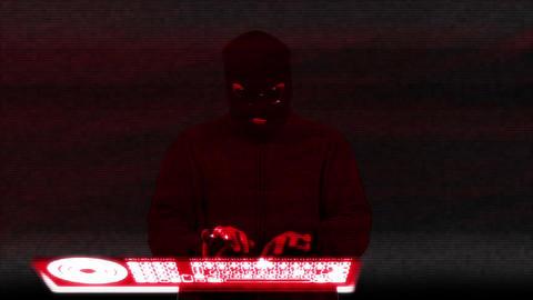 Hacker Breaking System 14 Stock Video Footage