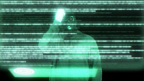 Hacker Breaking System 16 Stock Video Footage
