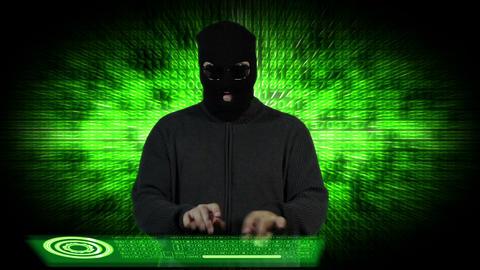 Hacker Breaking System Fail 6 Stock Video Footage