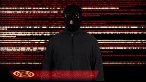 Hacker Breaking System Success 4 Stock Video Footage