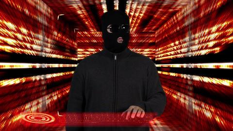 Hacker Breaking System Success Tunnel Design 5 Footage