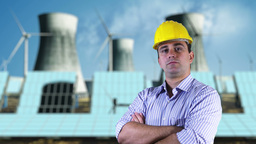 Young Engineer Serious Energy Concept 1 Stock Video Footage