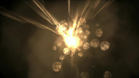 travel in universe,abstract power rays energy in... Stock Video Footage