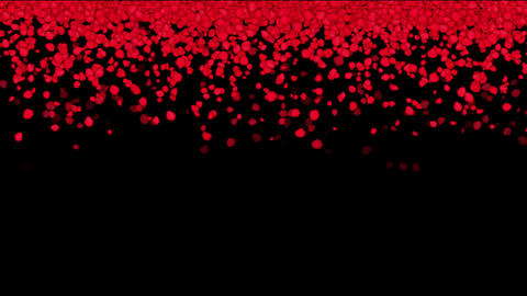 falling rose petals,wedding background,Valentine's Day Animation