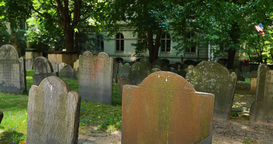 King's Chapel Cemetery Establishing Shot