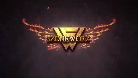 EPIC FIRE GOLDEN LOGO INTRO After Effects Template